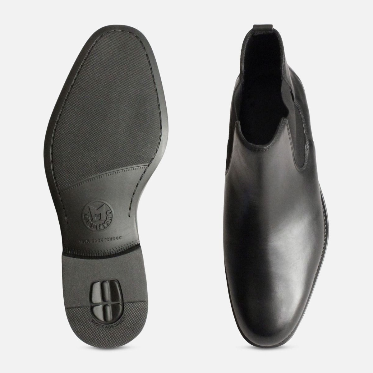 Mephisto Colby Black Mens Chelsea Boots