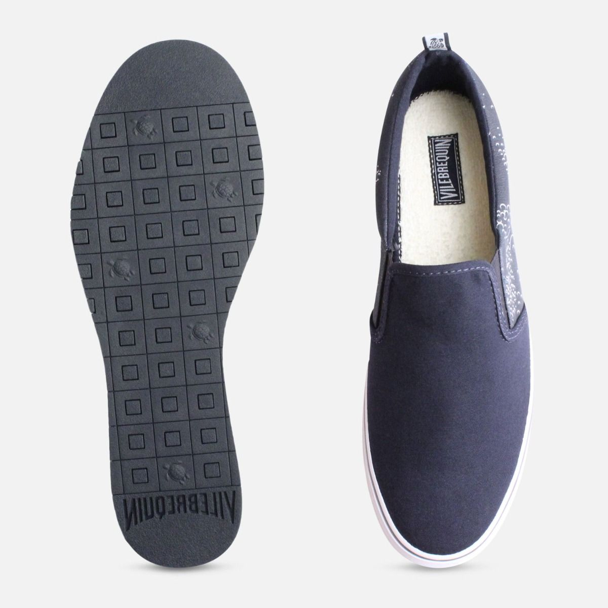 Vilebrequin Mens Navy Slip On Shoes
