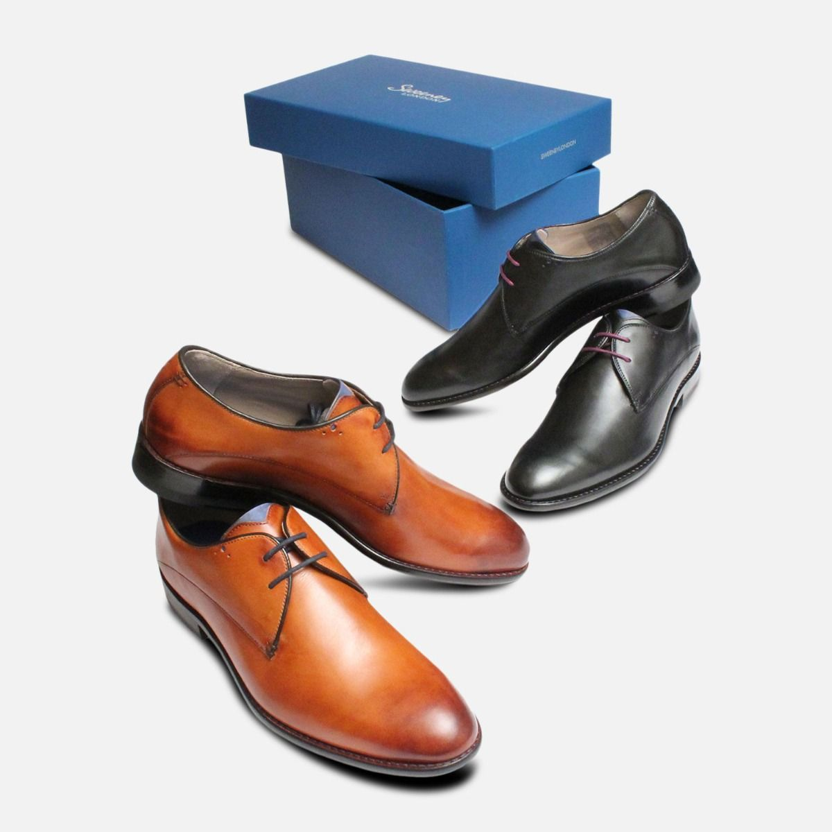 Black Lace Up Dress Shoes Knole by Oliver Sweeney