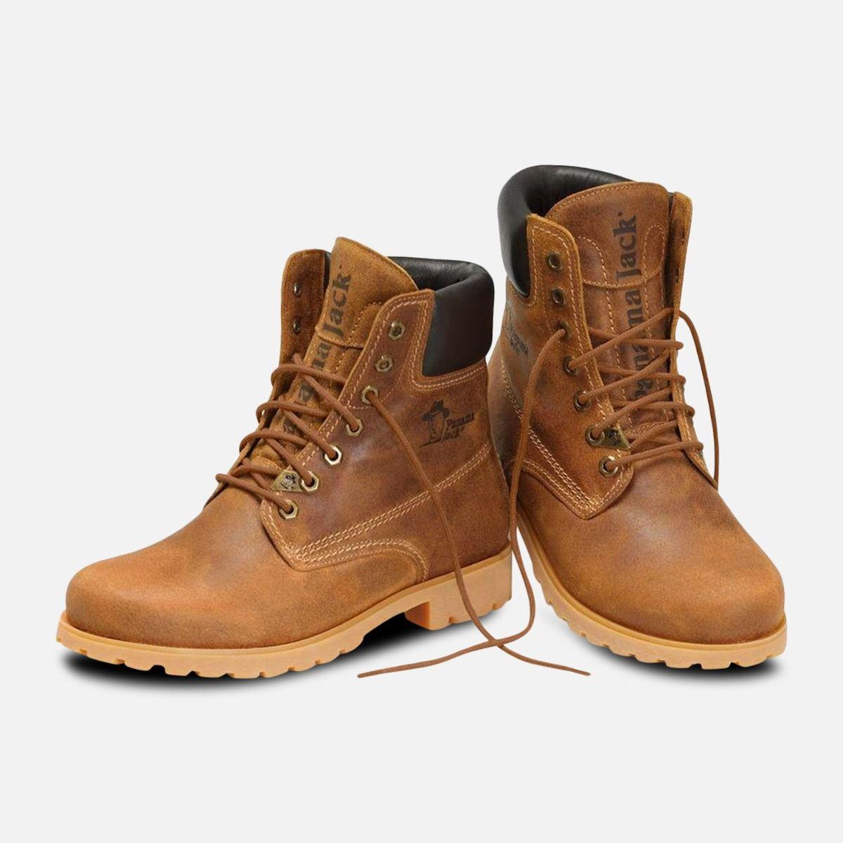 Panama Jack 03 Original Mens Brown Honey Boots