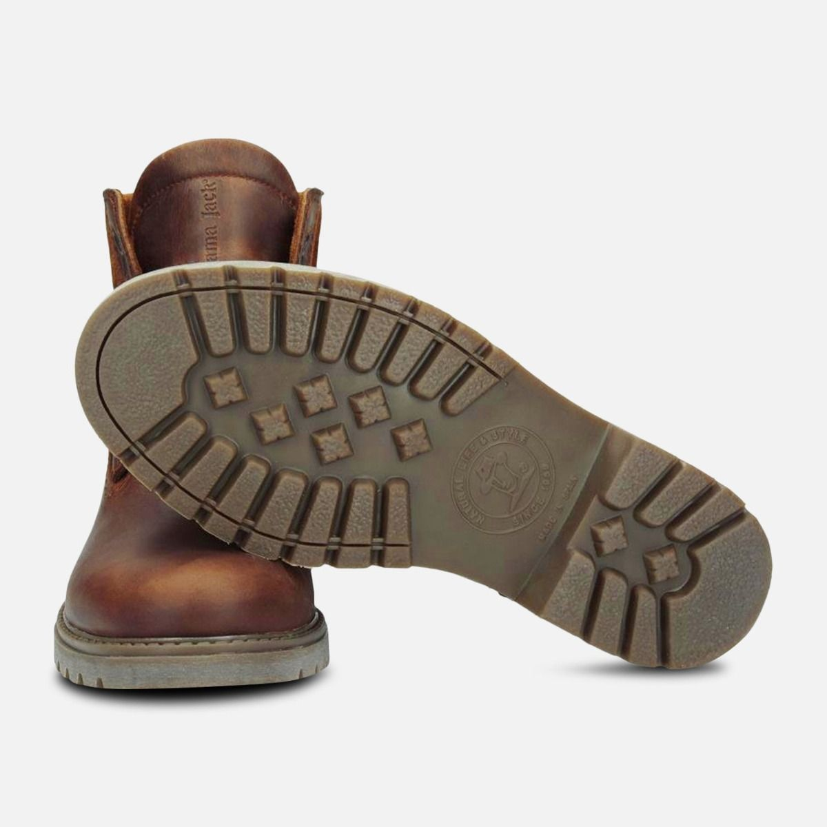 Gore Tex Panama Jack Brown Waxy Waterproof Boots