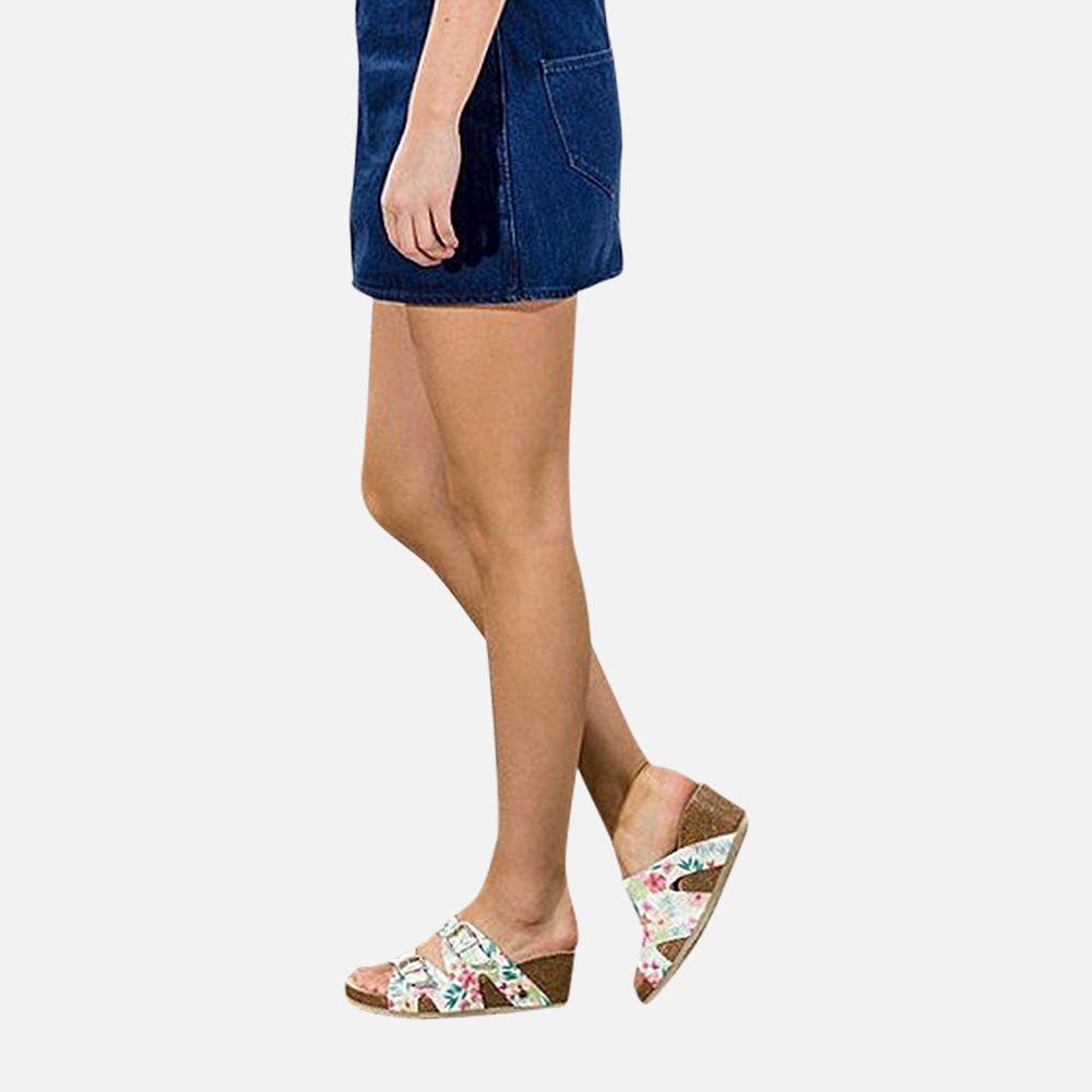 Ladies Panama Jack Vania Tropical Designer Sandals by Havana Joe