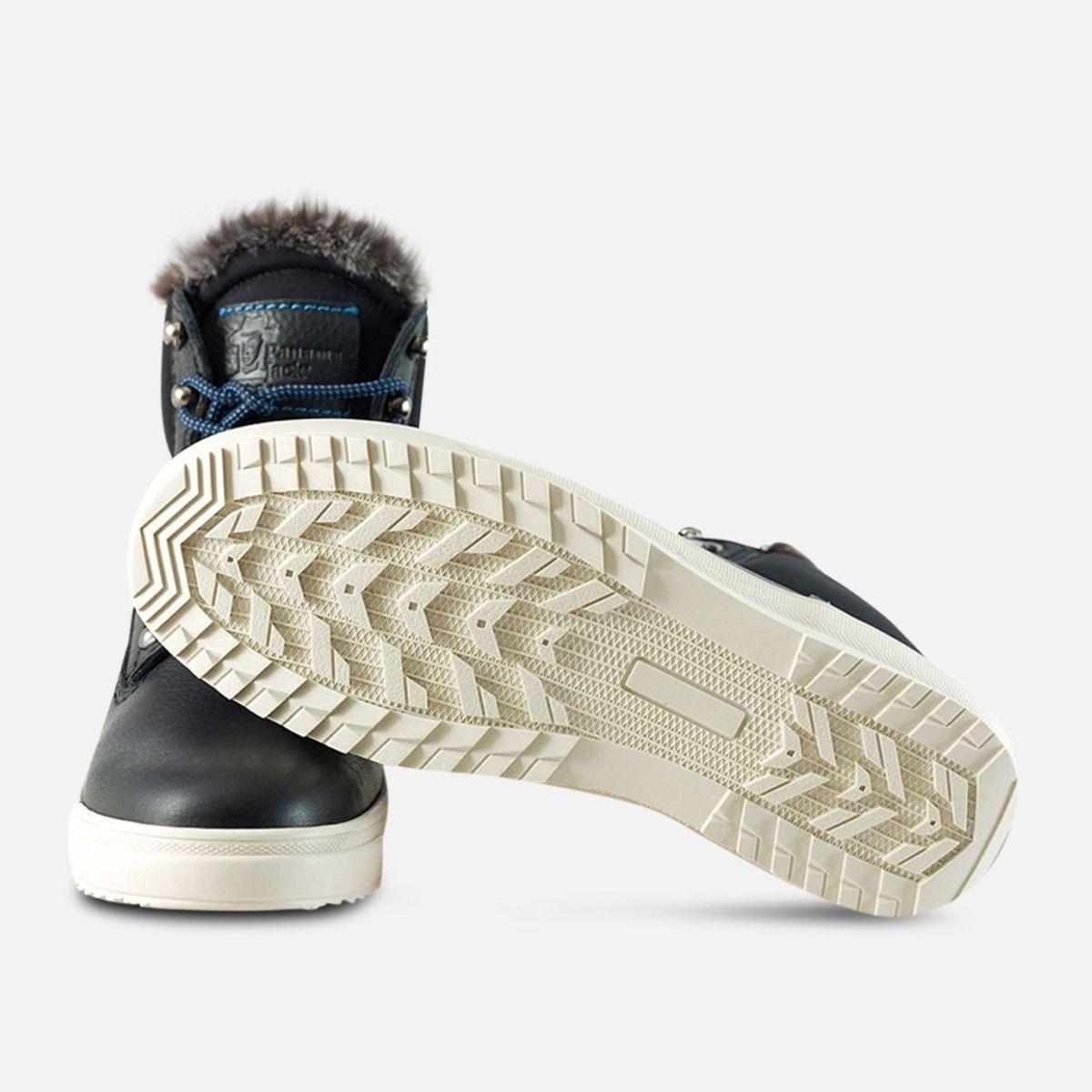 Fur Lined Black Urban Trekker by Panama Jack Shoes
