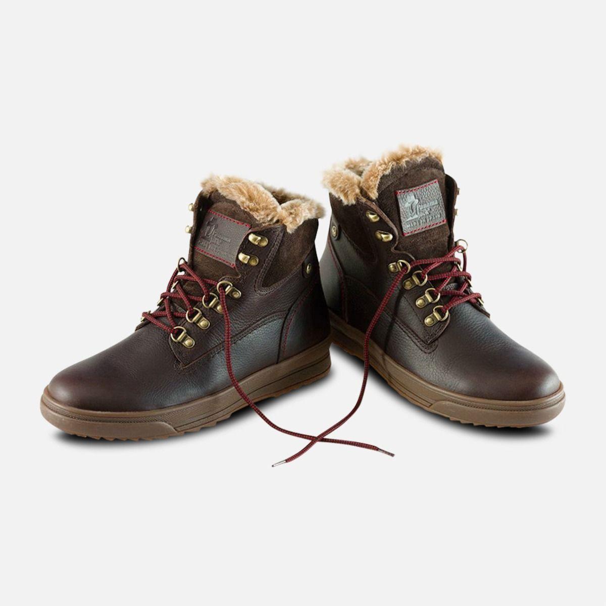 Fur Lined Brown Urban Trekker Panama Jack Boots