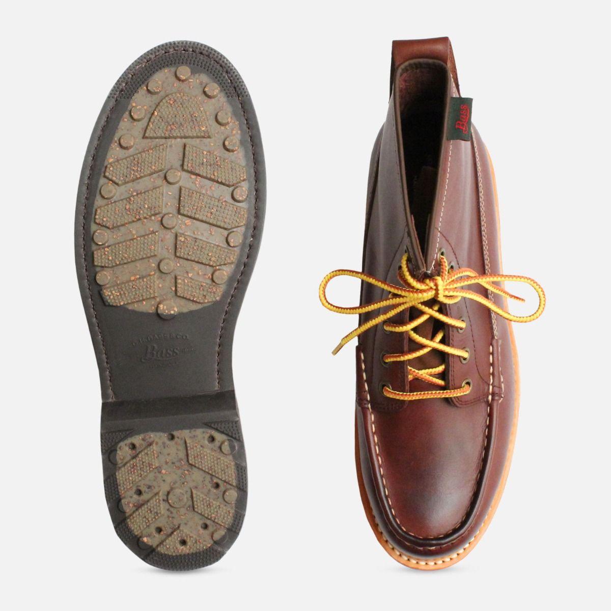 Quail Hunter Boots Dark Brown by G H Bass Shoes