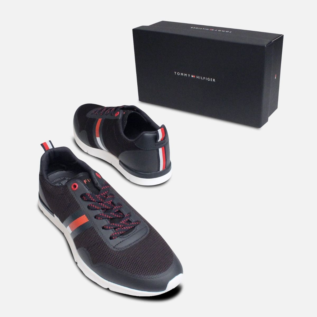 Tommy Hilfiger Tobias Lightweight Trainers in Dark Navy