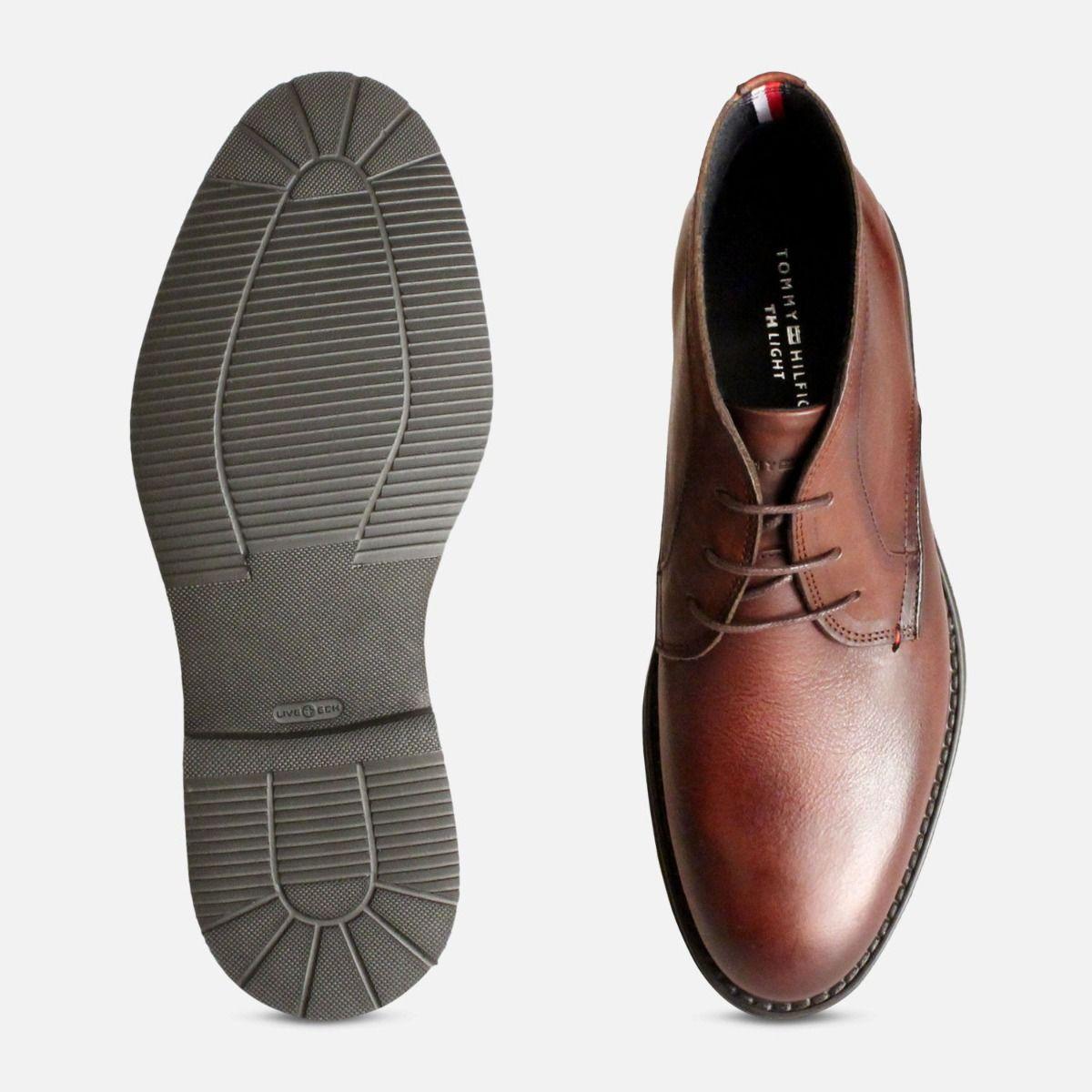 Tommy Hilfiger Luxury Brown Austin Chukka Boots