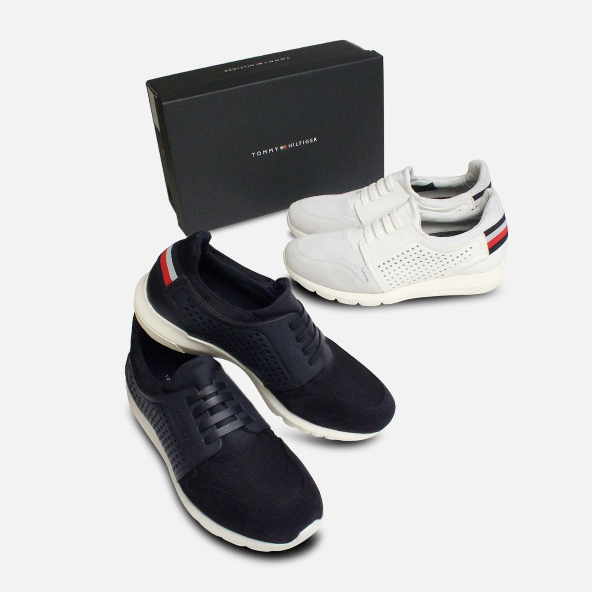 Tommy Hilfiger Extra Lightweight White Tech Sneaker