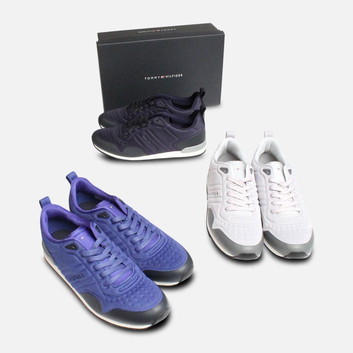 Monaco Blue Tommy Hilfiger Neoprene Designer Sneaker