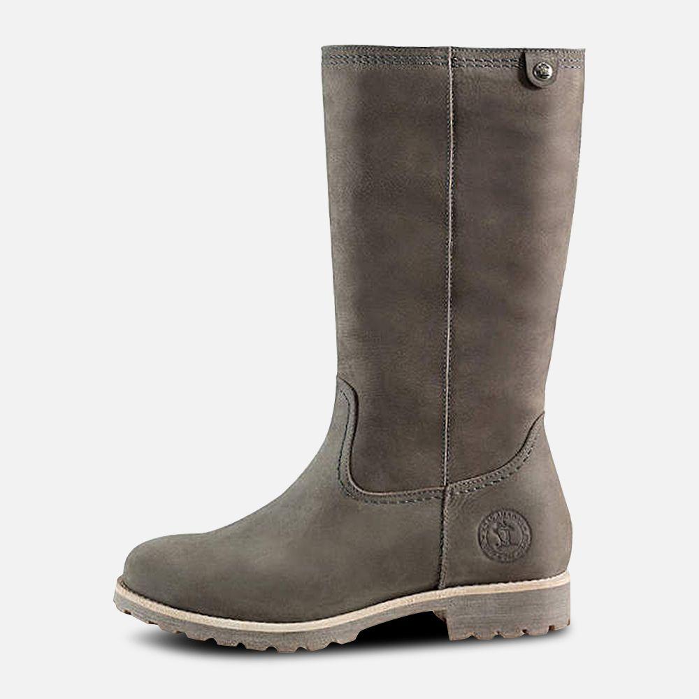 a941ce006710c Panama Jack Igloo Ladies Bambina B6 Grey Boots