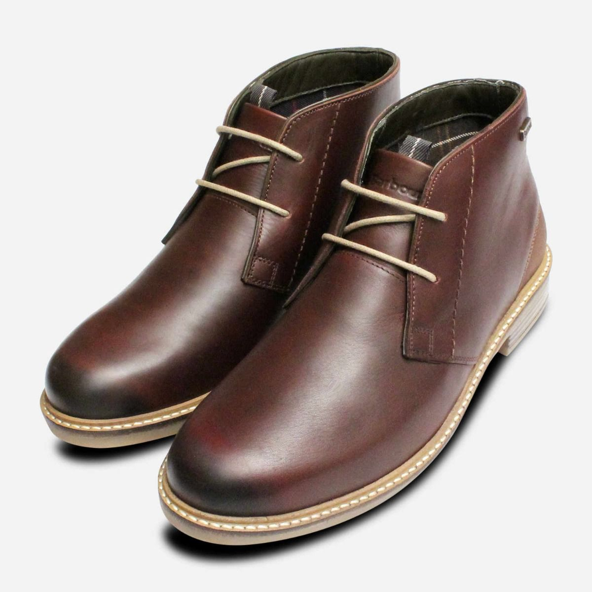 598d7f47a2f Barbour Readhead Waxy Dark Brown Mens Lace Up Boot