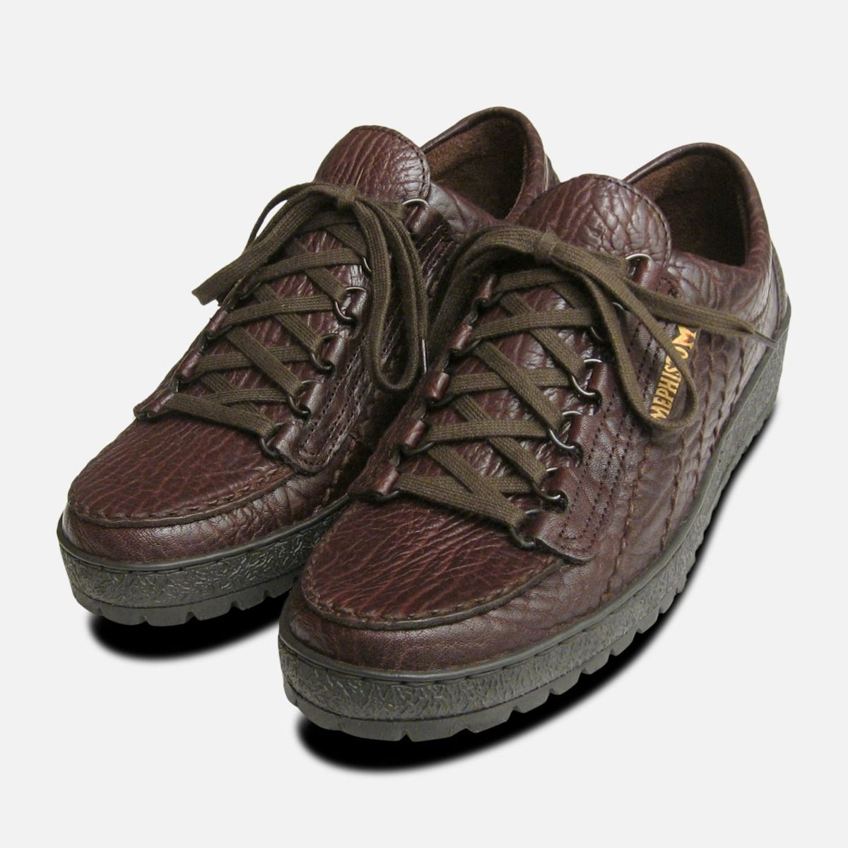 3827fcf93f585 Mens Mephisto Shoes Rainbow in Brown