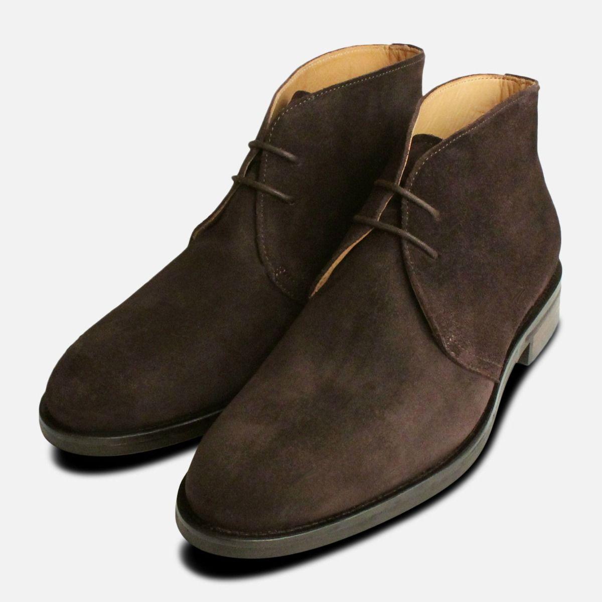 016319a7ee1 Dark Brown Suede Westbury 5 John White Mens Boots