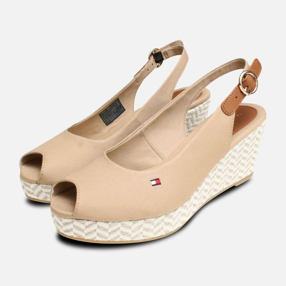 f402280d2cd178 Tommy Hilfiger Elba Desert Sand Wedge Sandals