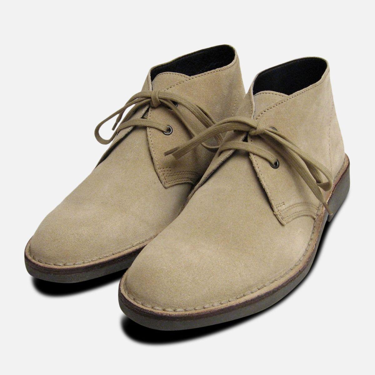 789685cfd17 Original Sand Suede Mens Italian Desert Boots