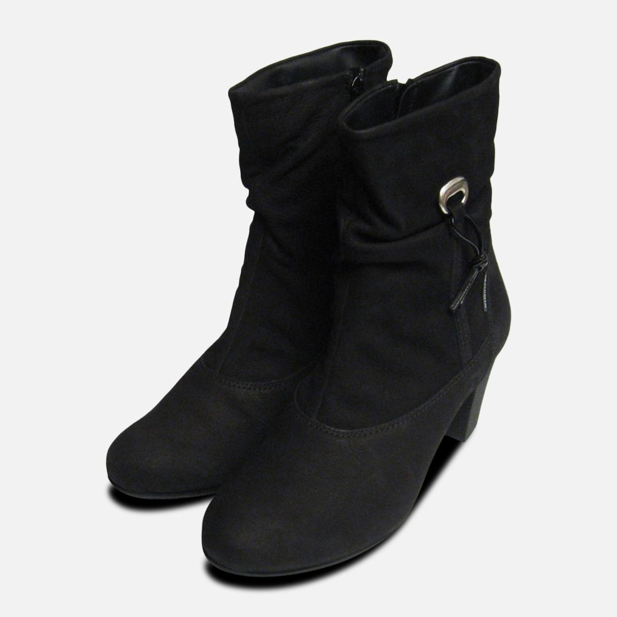 269769e838 Mephisto Ulcie Black Nubuck Lades Boots