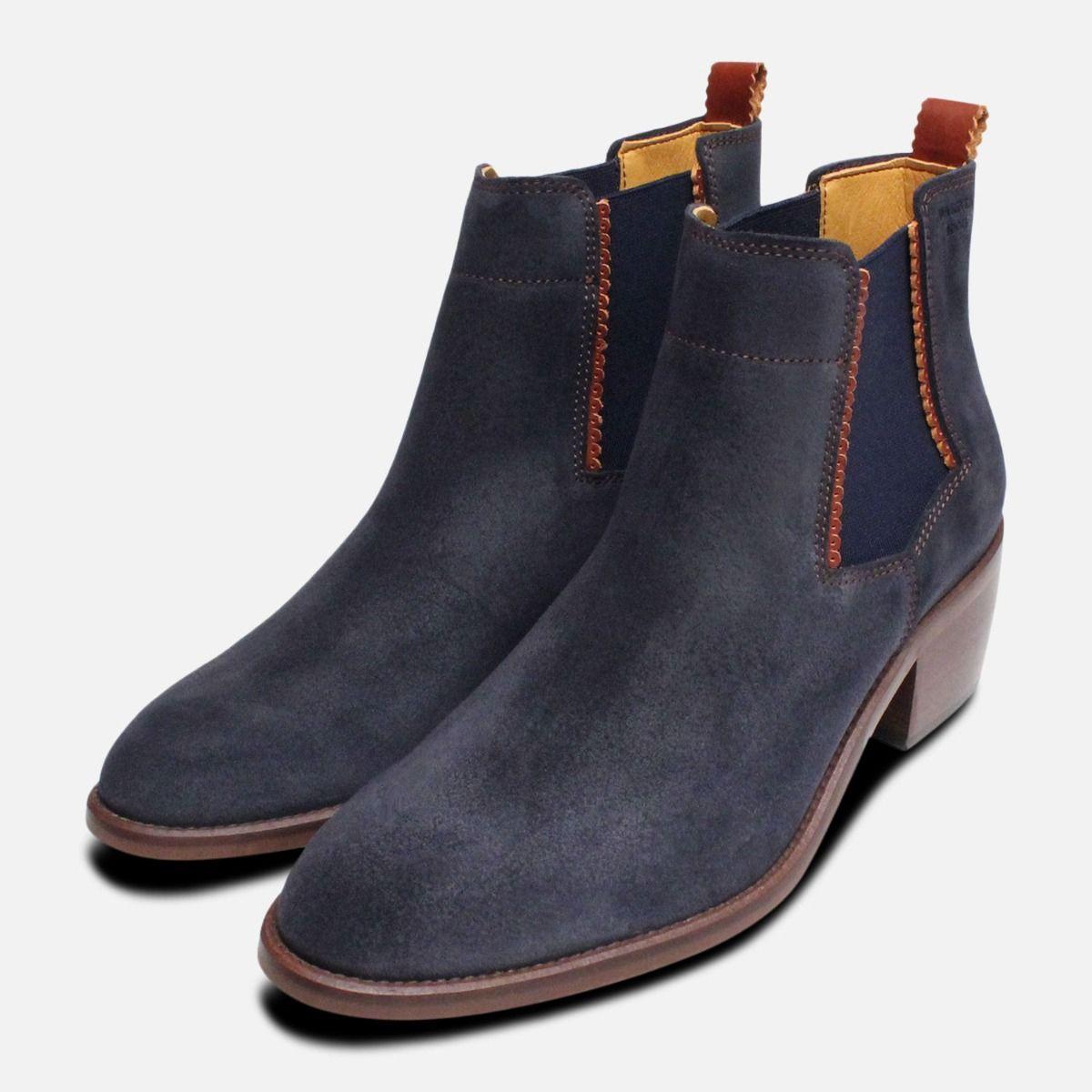 Chelsea boots womens heel