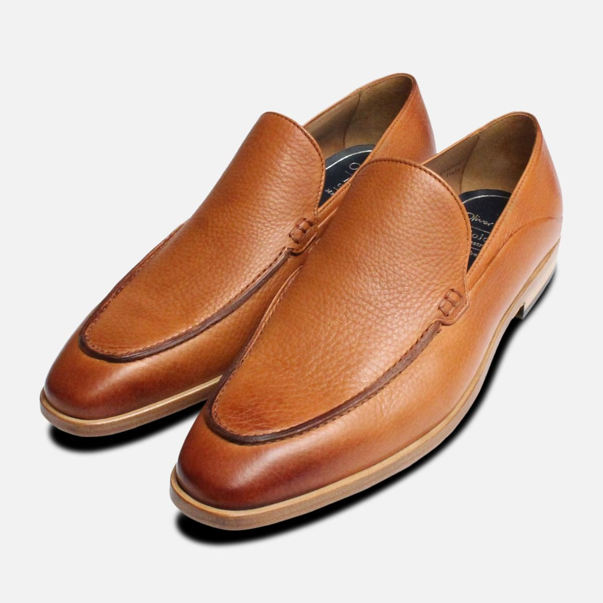 f1637d1d8 Brown Bologna Construction Loafers by Oliver Sweeney