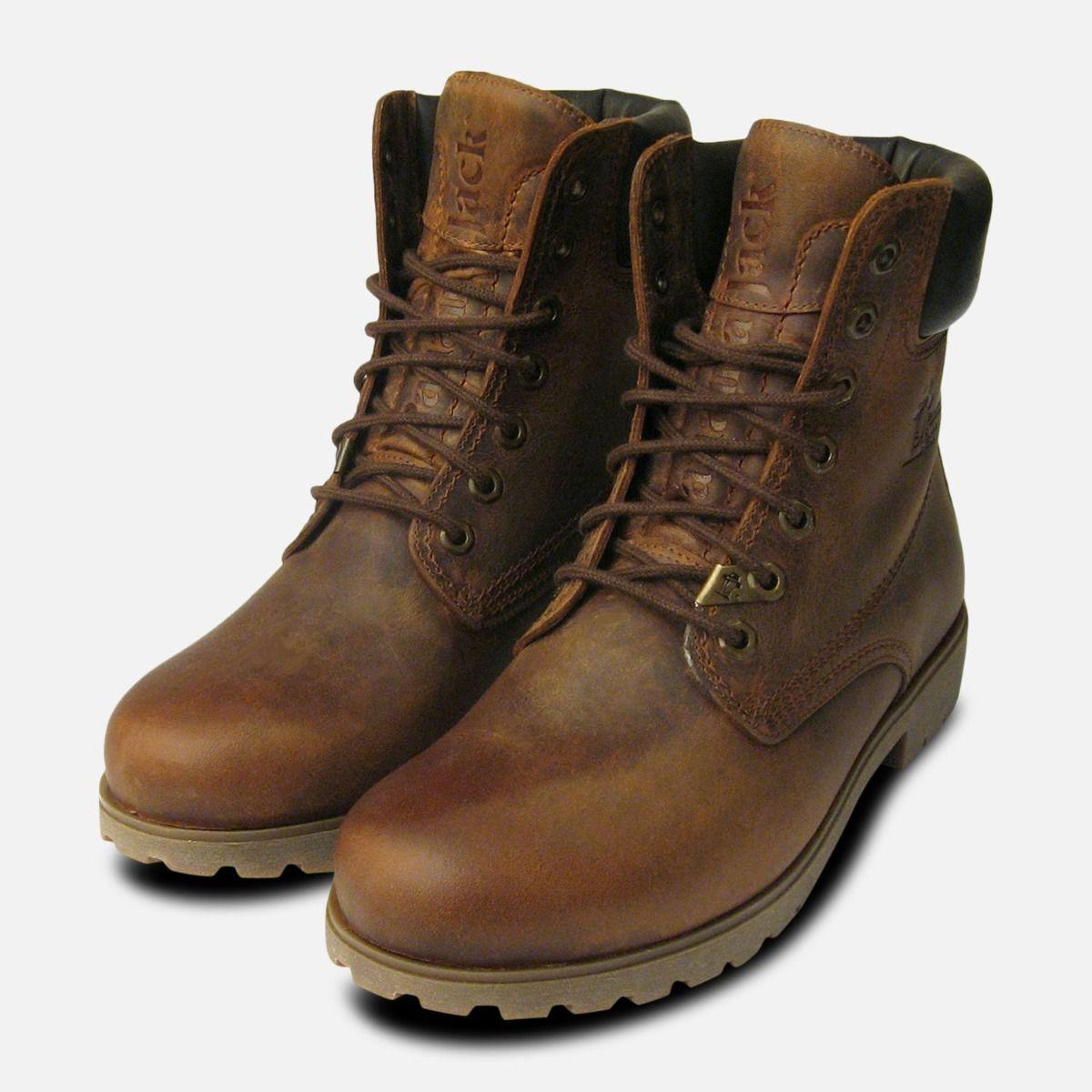 Panama Jack Original Mens Brown Bark Boots 993dab6b8d1