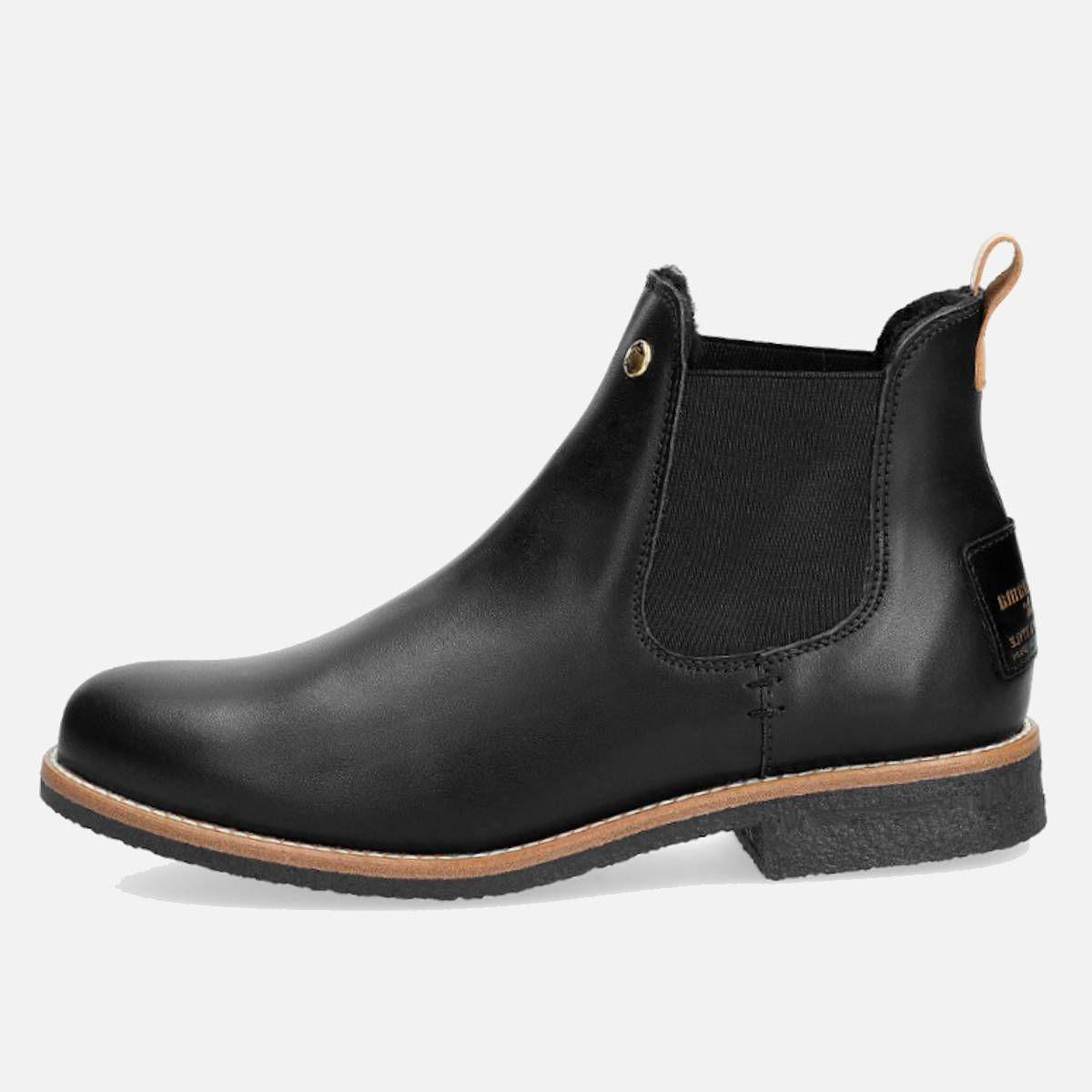 06fbe0fe3ed661 Panama Jack Black Giordana Fur Lined Slip On Boots