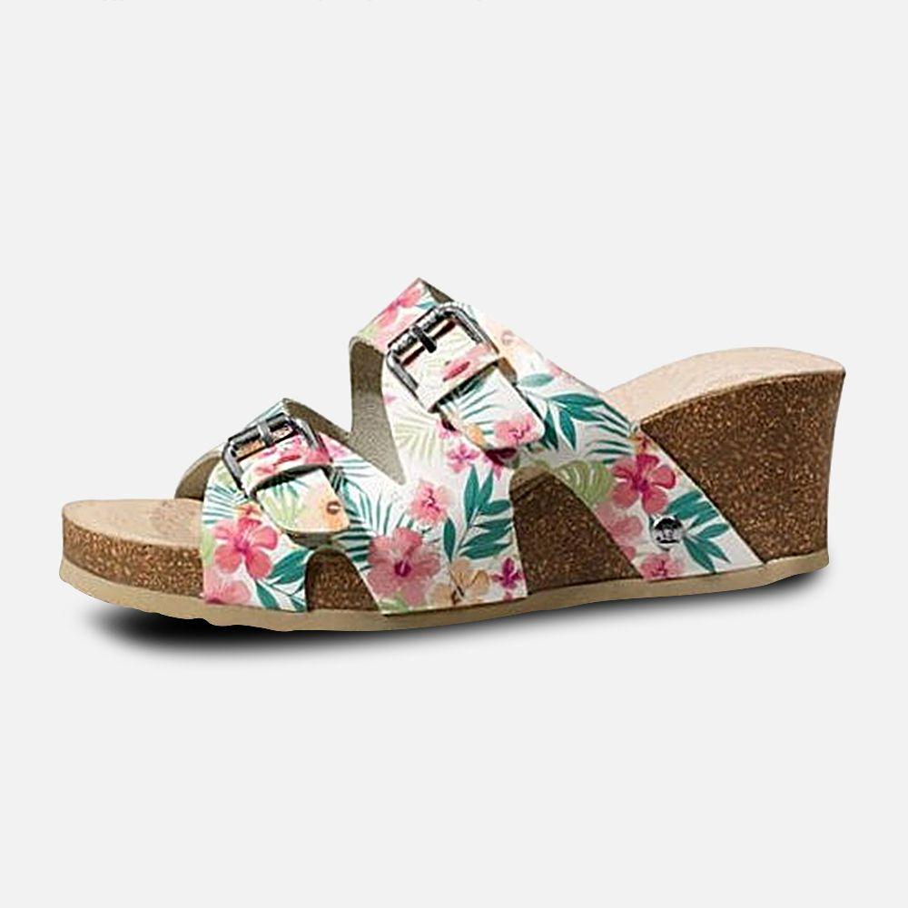 b717009fa25a Ladies Panama Jack Vania Tropical Designer Sandals by Havana Joe