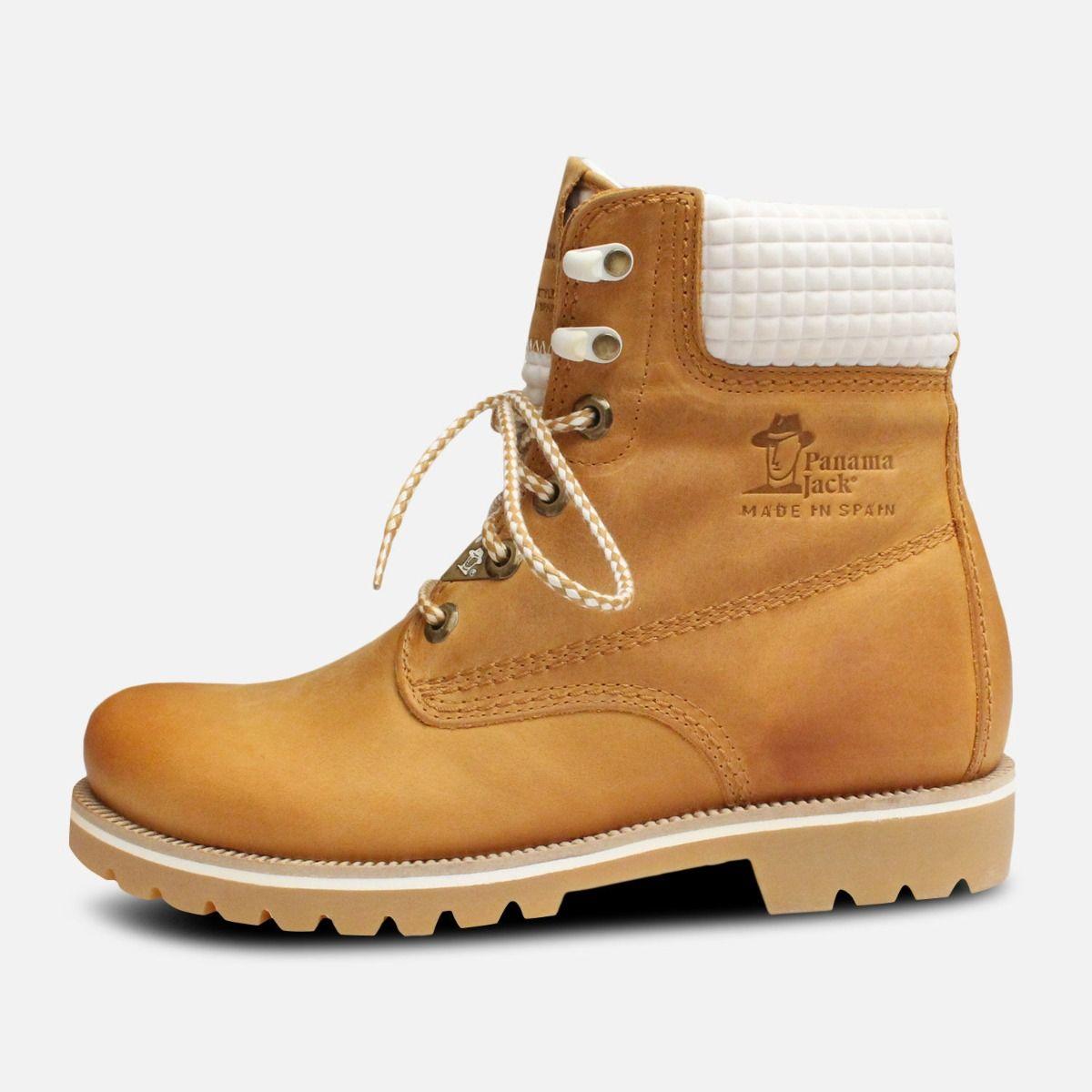 dda55b00683f8e Ladies White Vintage Panama Jack Boots 03 Neo B4