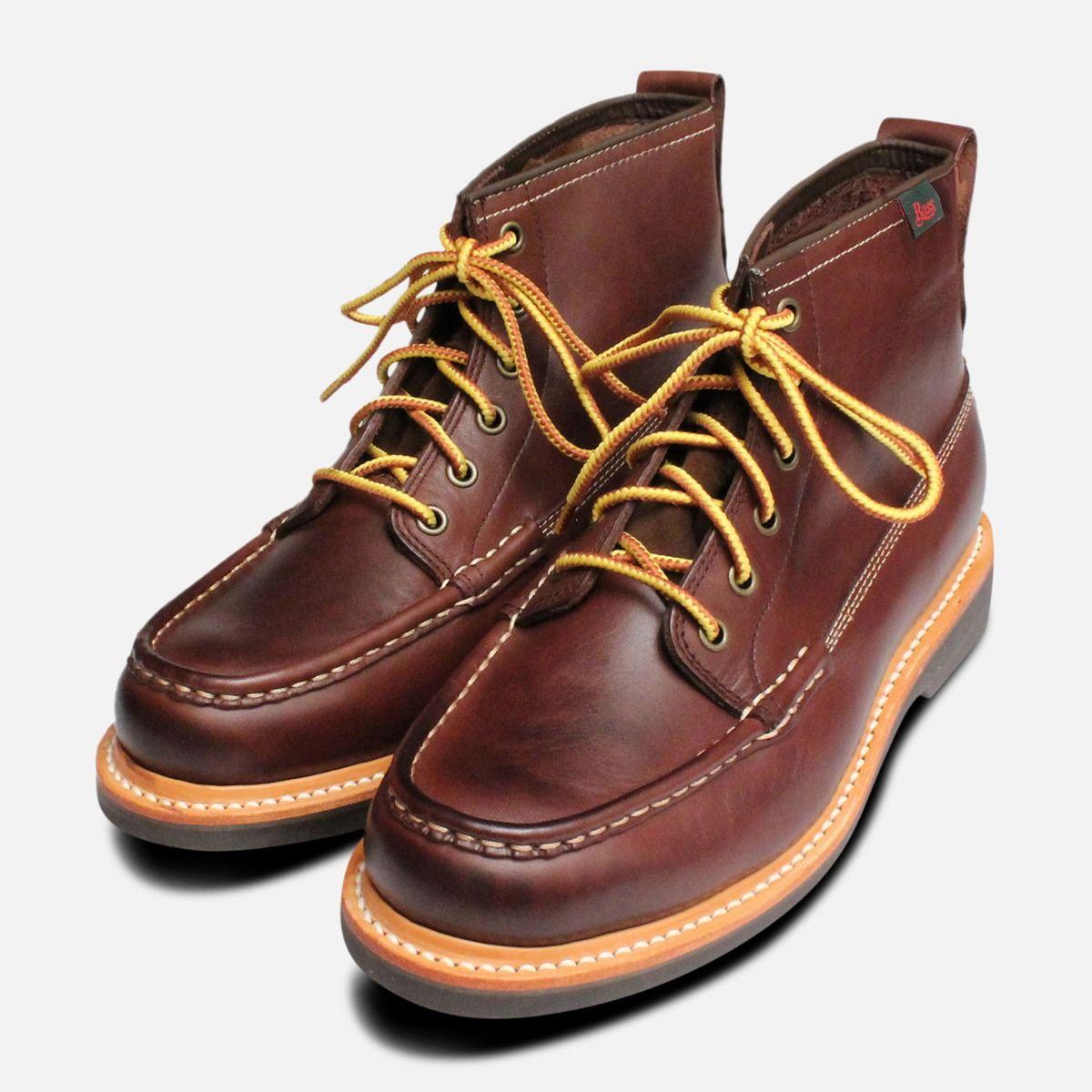 75c2e87dd33 Quail Hunter Boots Dark Brown by G H Bass Shoes