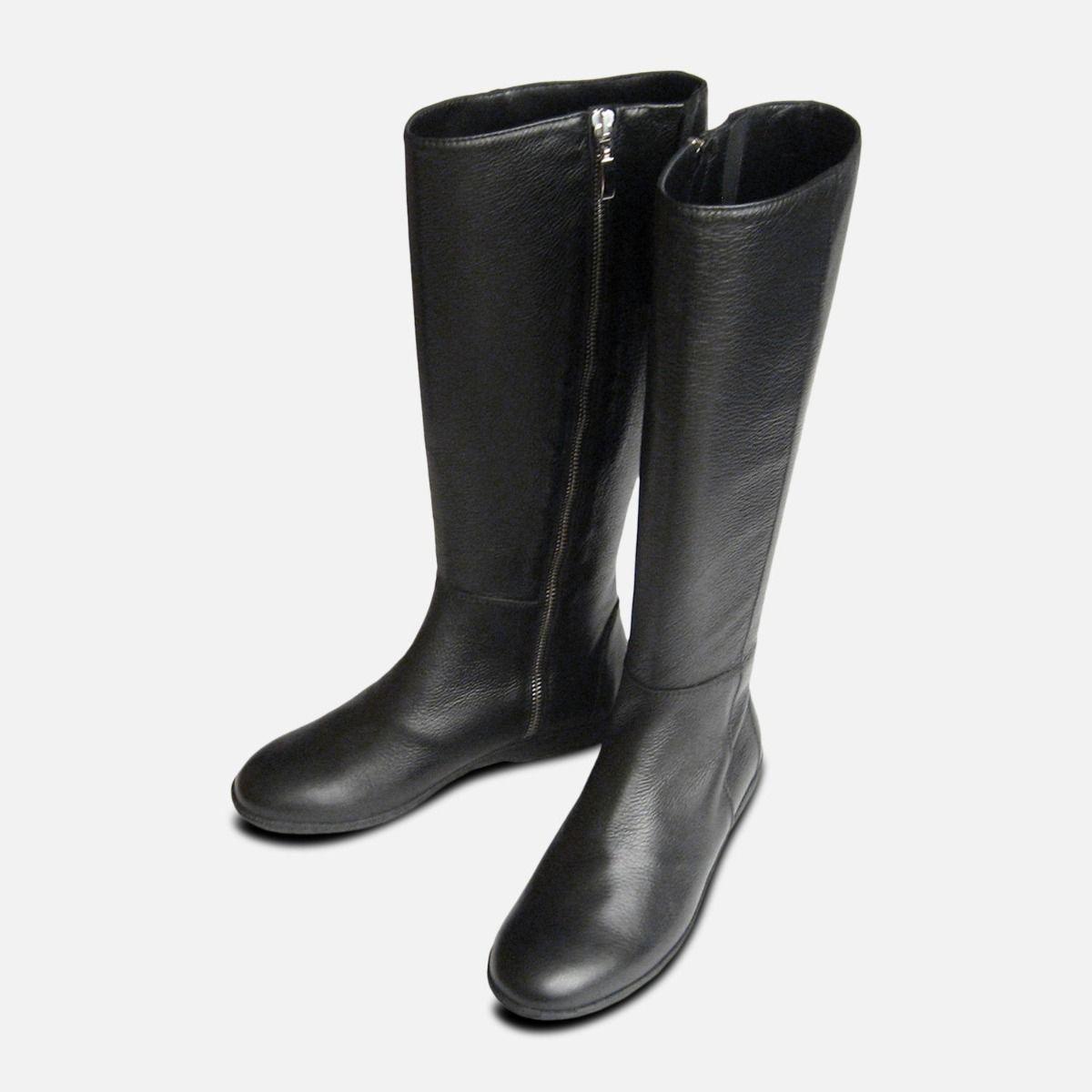 961f667e307 Luxury Italian Designer Ladies Black Riding Boots by Arthur Knight