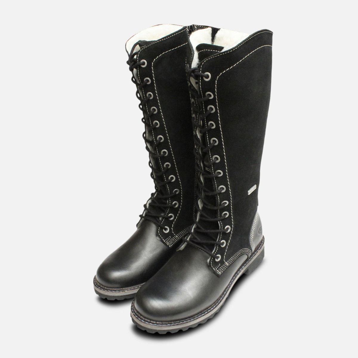 98640413ae7 Tamaris Ladies 25546 Ruched Knee Boots In Black ...