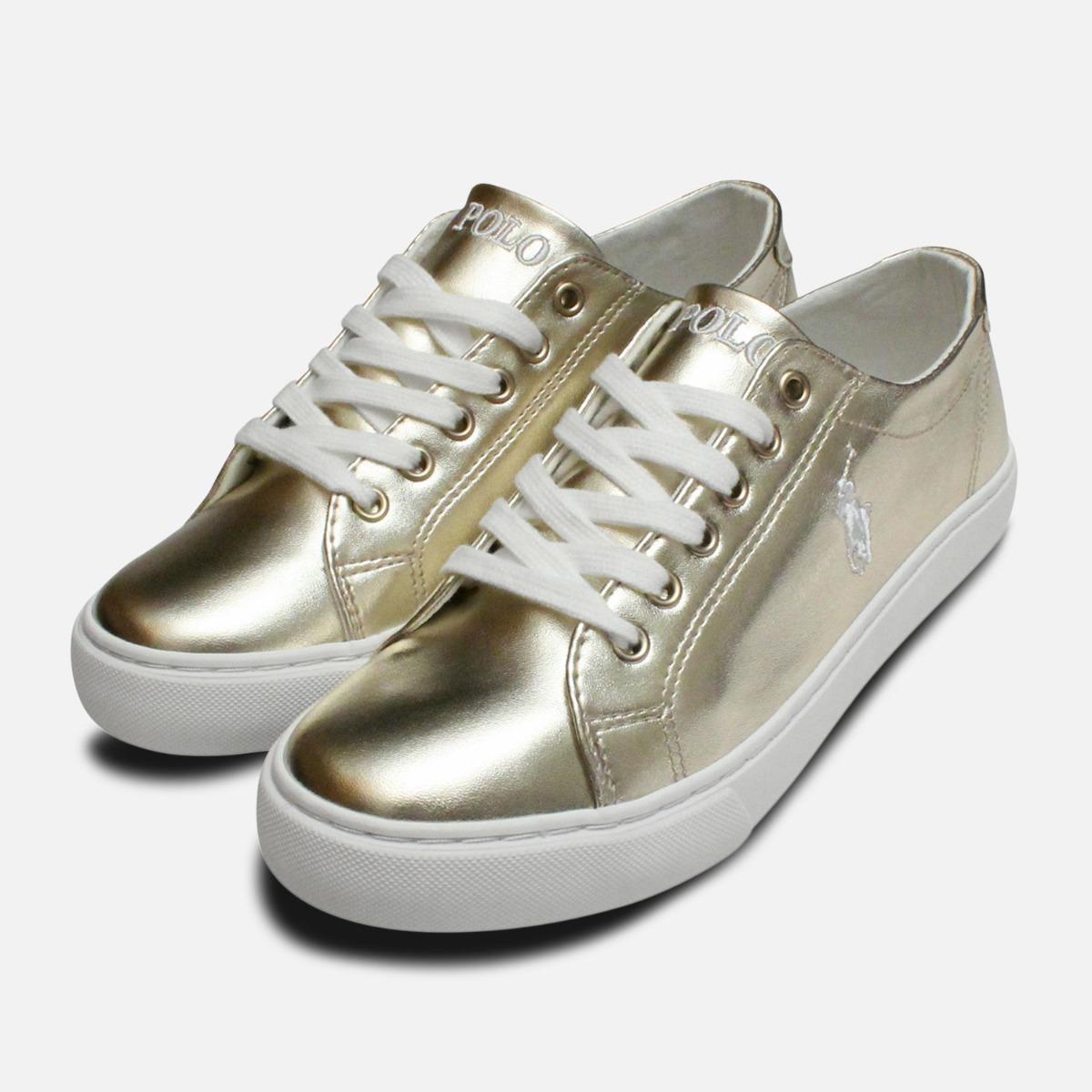 Gold \u0026 White Ralph Lauren Polo Junior