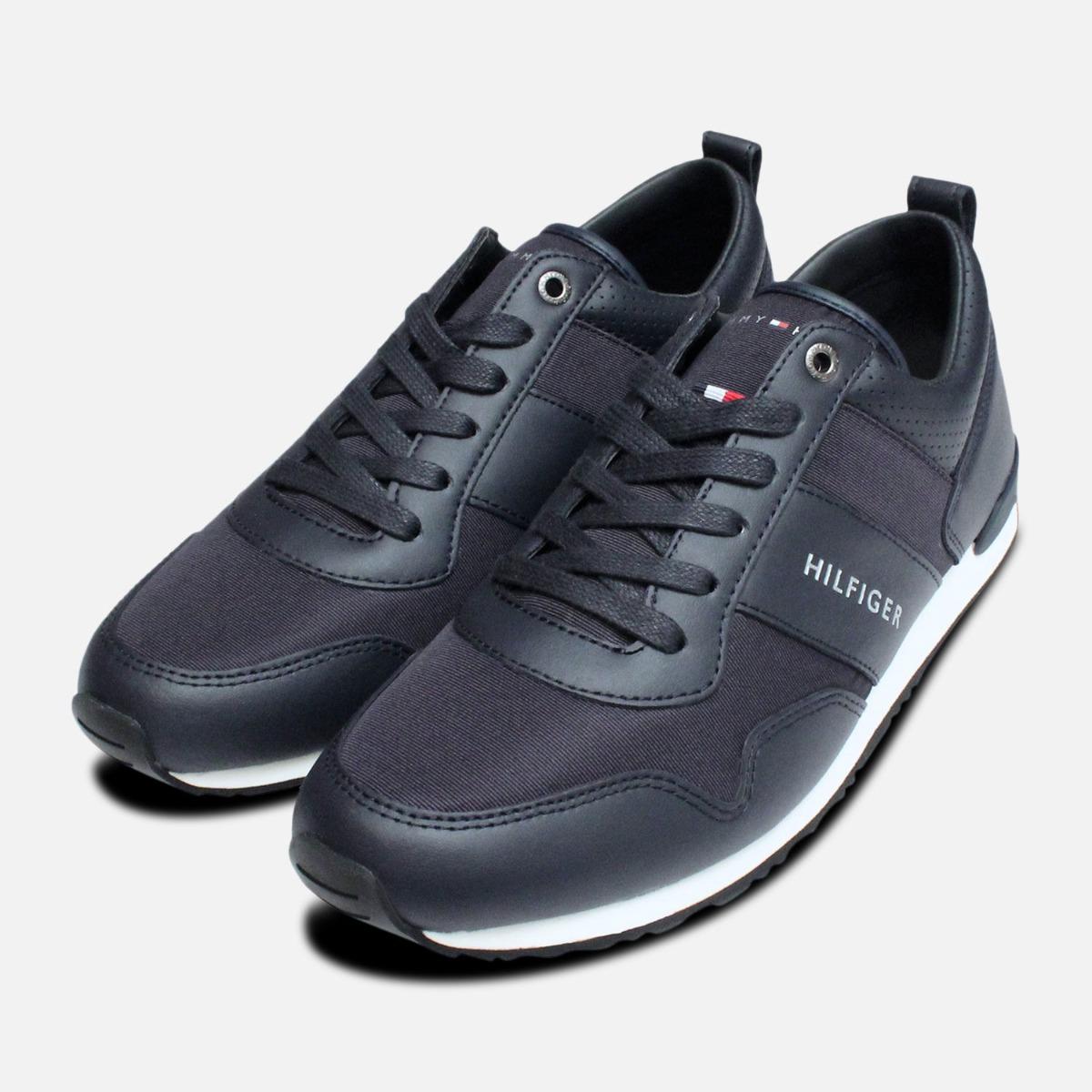 New York réel classé nouveau design Détails sur Homme Tommy Hilfiger Maxwell Chaussures en bleu nuit- afficher  le titre d'origine