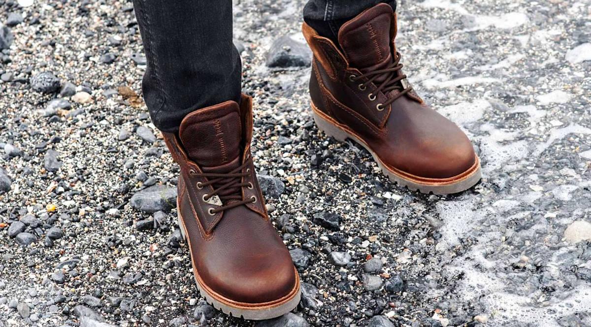 Gore Tex Panama Jack Chestnut Waterproof Boots