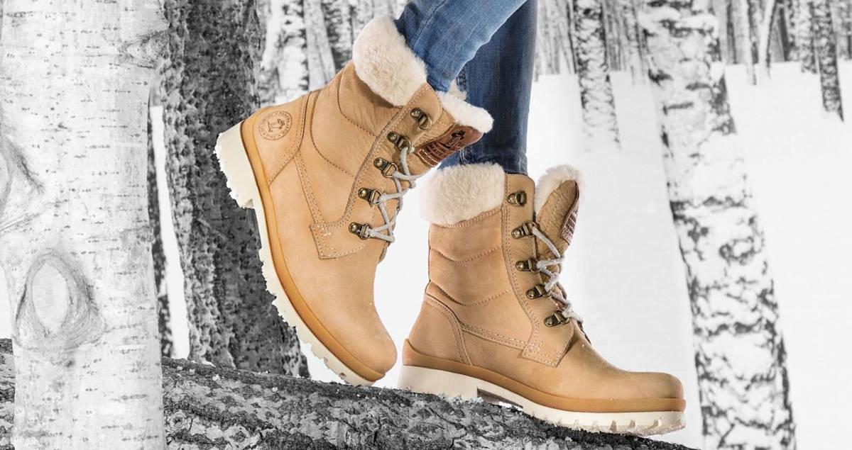 Panama Jack Tuscani B17 Natural Fur Boots