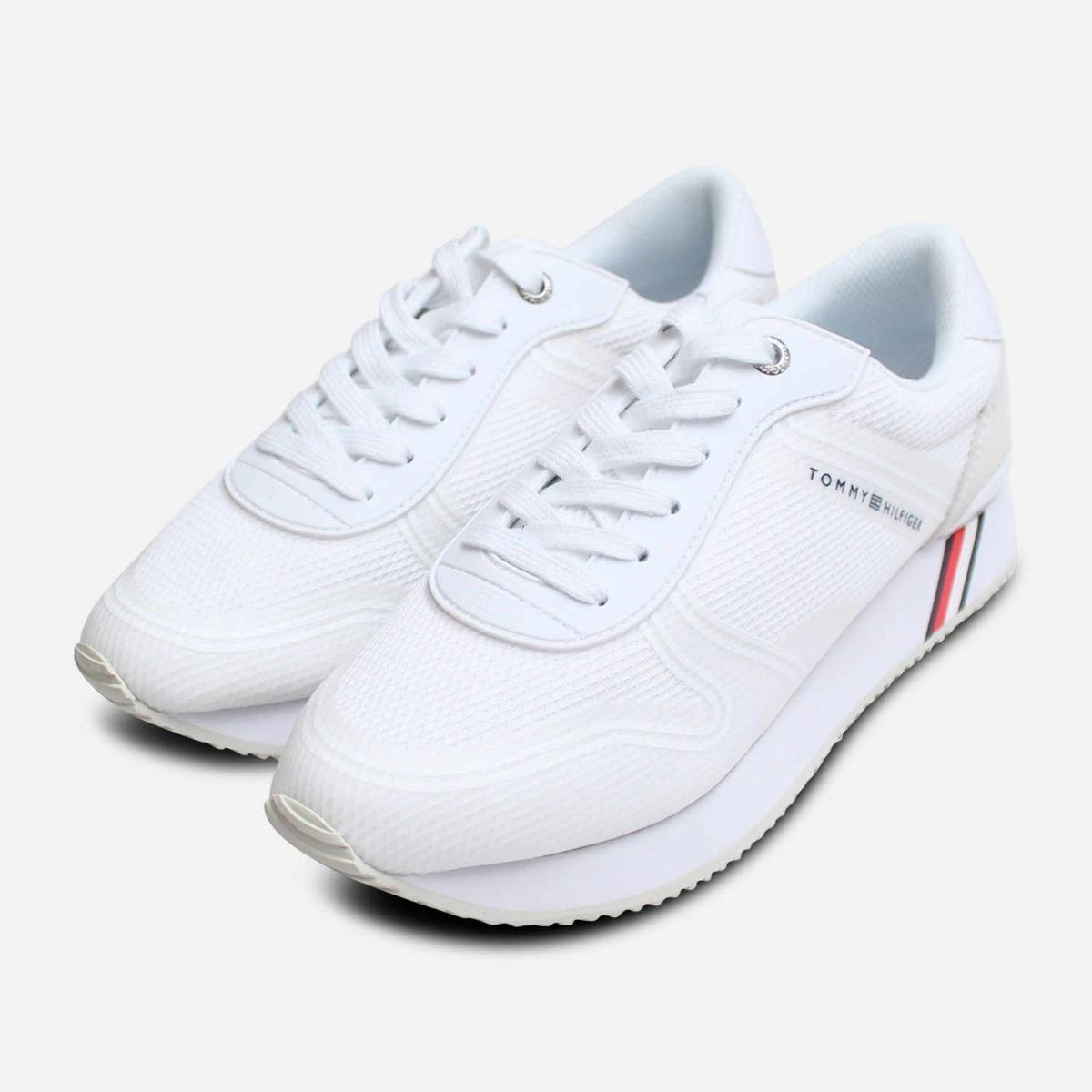 Tommy Hilfiger Femme Sneakers mode 2020 Sneaker Blanc nautique
