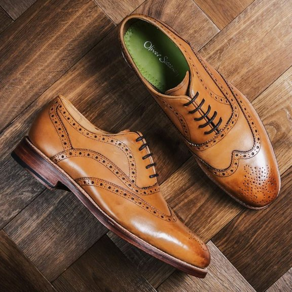 Oliver Sweeney Tan Brogues