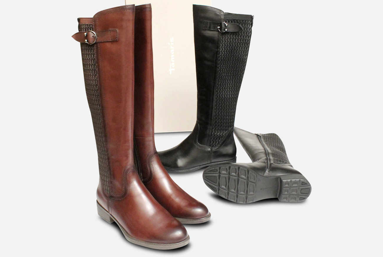 Tall Womens Boots with Side Zip