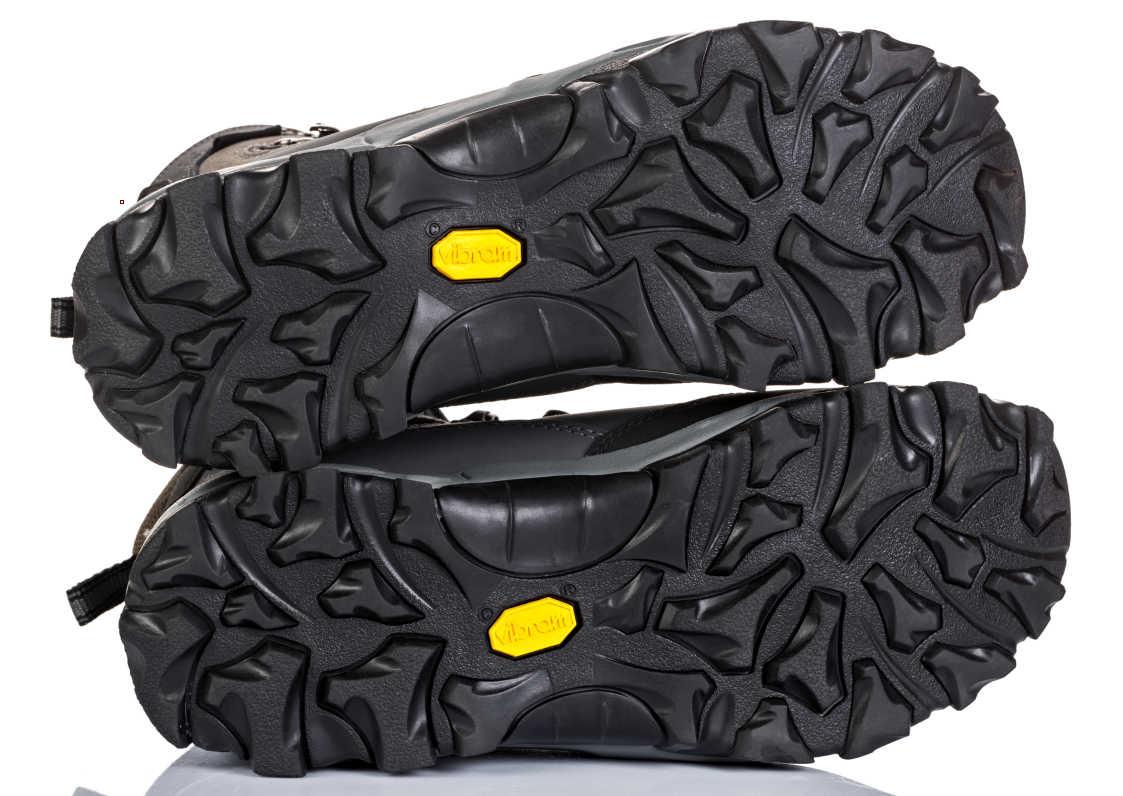 Vibram Rubber Sole Walking Boots