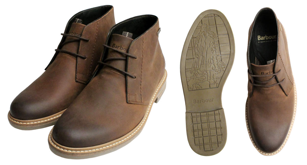 Barbour Brown Boots for Men
